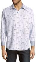 Robert Graham Men's Teenage Riot Cotton Casual Button-Down Shirt