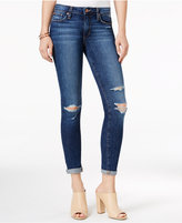 Joe's Jeans Ripped Cuffed Addison Wash Skinny Jeans