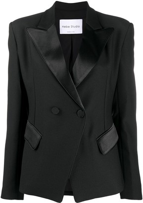 Hebe Studio Loulou double-breasted blazer