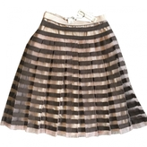 Marc Jacobs Brown Wool Skirt