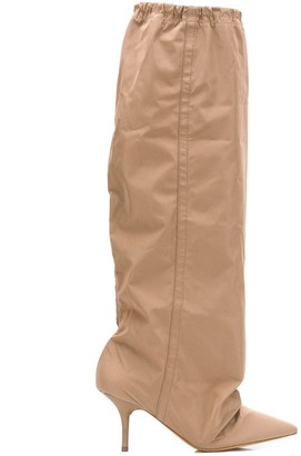 Yeezy Elasticated Knee-Length Boots