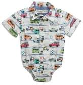Sovereign Code Sovereign CodeTM Size 0-3M Cars Bodysuit in White