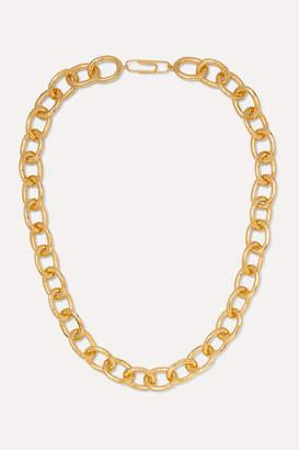 Aurelie Bidermann Manon Gold-plated Necklace