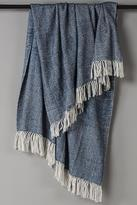 Herringbone Fringe Throw