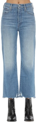 Mother The Rambler Wide Leg Stretch Denim Jeans