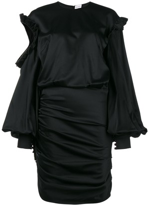 Magda Butrym Acapulco Cold-Shoulder Mini Dress