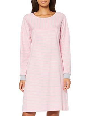Seidensticker Women's Sleepshirt 1/1, 95 cm Nightie, Grey (grau-Mel. 2), UK