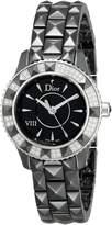 Christian Dior Women's CD1221E1C001 Eight Analog Display Swiss Quartz Watch
