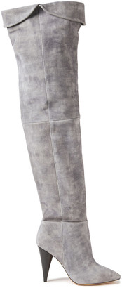 IRO Groove Suede Over-the-knee Boots