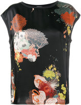 Dries Van Noten Haggin floral print top
