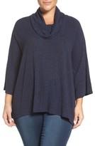 Sejour Plus Size Women's Cowl Neck Top