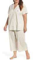 Lauren Ralph Lauren Plus Size Women's Knit Capri Pajamas
