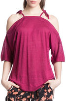 Plenty by Tracy Reese Shoulder Tie Top