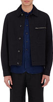 Margaret Howell MEN'S DRILL JACKET-NAVY SIZE M