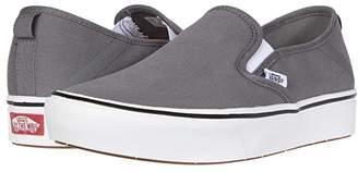 Vans ComfyCush Slip-On SF ((Stretch Canvas) Green Sulphur/True White) Skate Shoes