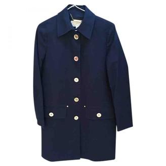 Michael Kors Blue Cotton Coats
