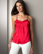 Y-Back Charmeuse Cami