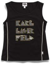 Karl Lagerfeld Girls Tank Top (2-6Y)