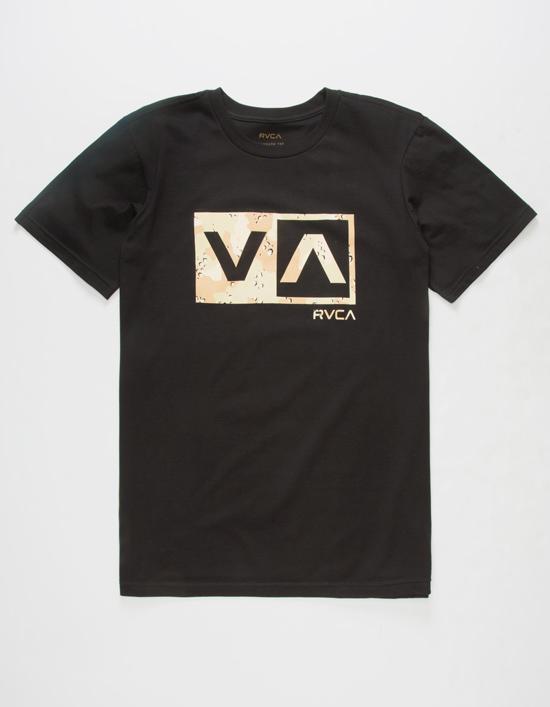 RVCA Desert Camo Balance Mens T-Shirt
