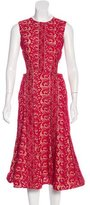 Self-Portrait Cutout Lace Dress w/ Tags