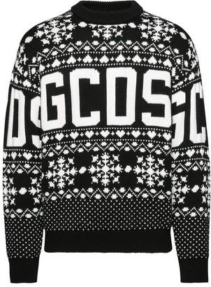 GCDS Christmas sweater