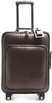 Bottega Veneta Intrecciato leather suitcase