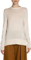 Proenza Schouler White Label Woven Combo Knit Sweater