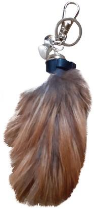 Christian Dior Camel Mink Bag charms