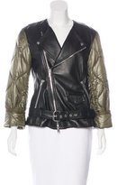 3.1 Phillip Lim Leather Zip-Front Jacket w/ Tags