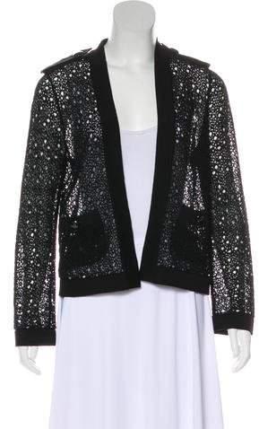 Chanel 2016 Open Knit Cardigan