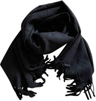 Zara Black Polyester Scarves