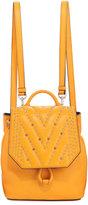 MCM Diamond Disco Mini Backpack, Yellow