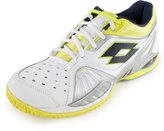Lotto Women`s Raptor Ultra IV Clay Tennis Shoe White and Chick