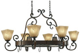 Wildon Home Portsmouth Chandelier Pot Rack with 8 Light