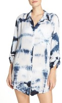 Green Dragon Women's Big Sur Cover-Up Shirt