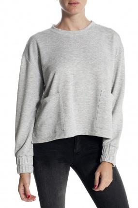 Otis & Maclain 2 Pocket Sweater Heather Grey