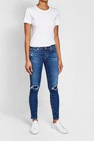 AG Jeans Distressed Skinny Leggings