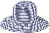 San Diego Hat Company Women's Wide Striped Ribbon Wired Sun Brim Hat RBL4794