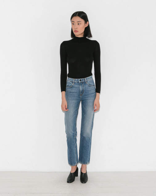 Alexander Wang Cult Cropped Straight