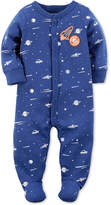 Carter's 1-Pc. Space-Print Footed Coverall, Baby Boys (0-24 months)