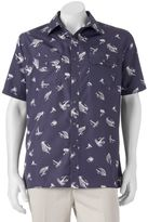Croft & Barrow Men's Quick-Dry Easy-Care Outdoor Print Button-Down Shirt
