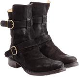 Fiorentini+Baker Fiorentini & Baker Suede Buckle Boots