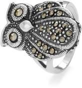 John Greed Doris Marcasite Vintage Owl Ring