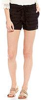 Jolt Eyelet Tassel Tie Shorts