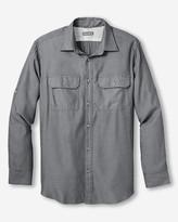 Eddie Bauer Men's On The Go Herringbone Shirt