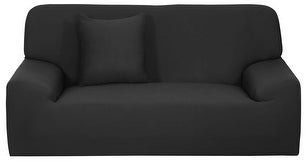 Unique Bargains Stretch Sofa Chair Cover Loveseat Couch Sofa Slipcover Solid Color