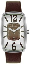 Giordano Women's 1099-3 Brown Leather Watch