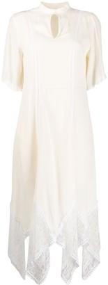 See by Chloe Asymmetric Lace Dress