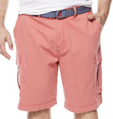 THE FOUNDRY SUPPLY CO. The Foundry Big & Tall Supply Co. Belted Cargo Shorts