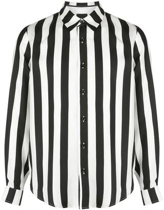 Amiri Block Stripe Poplin Shirt